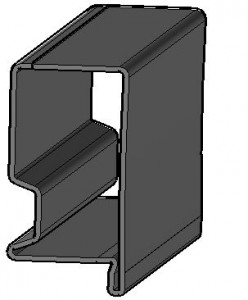 Rahmenprofil HC380LA+ZE75
