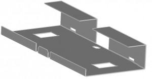 Rahmenprofil aus DX51D+Z275